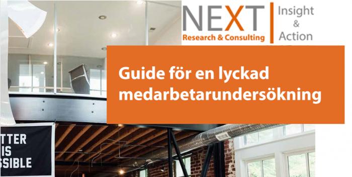 Guide till en lyckad medarbetarundersökning / medarbetarenkät